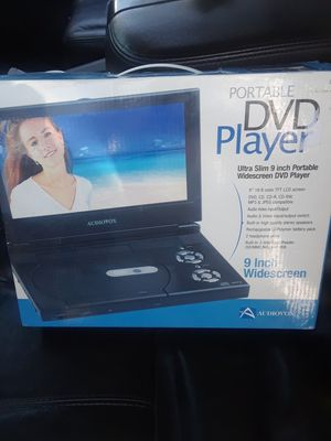 Audiovox 9 inch screen full screen portable video player for Sale in Denver, CO