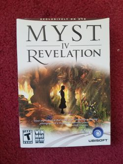Myst revelation 4 PC dvd for Sale in San Jose,  CA