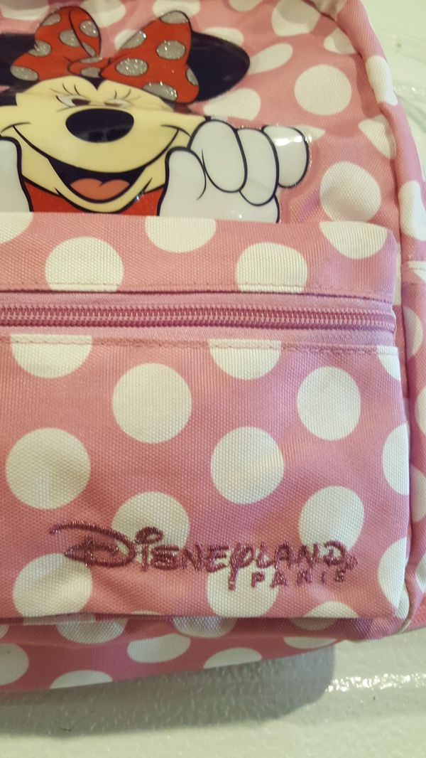 Minnie mouse Disney License Backpack