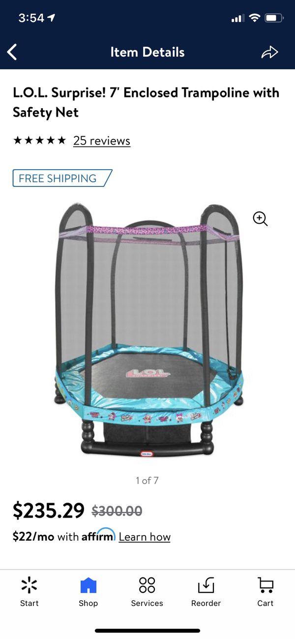 LOL Surprise Little Tikes Trampoline