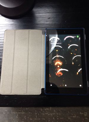 Blue amazon kindle fire 7 for Sale in Asheville, NC