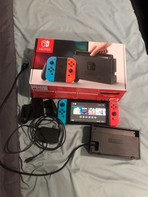 Nintendo Switch everything included with Pokémon Pikachu (game cartridge only) for Sale in Fullerton, CA