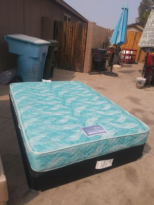 full bed in very good condition very clean mattress for Sale in Phoenix, AZ