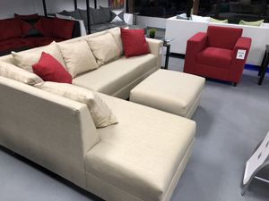 Sectional sofa only or complete living room set couch for Sale in Hialeah, FL