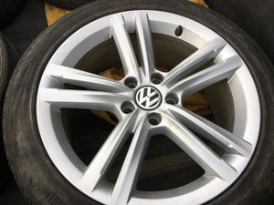 VW OEM wheels (and tires) for Passat for Sale in Dickinson, ND
