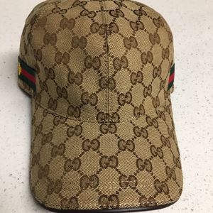 GUCCI GG Web Insect Canvas Baseball Cap Hat for Sale in Tolleson, AZ