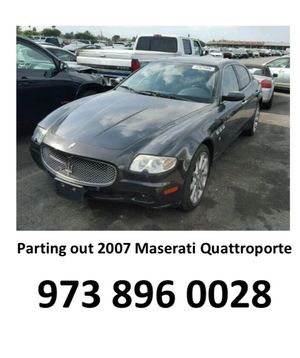 07 Maserati quattroporte parting out Parts parts for Sale in Seattle, WA