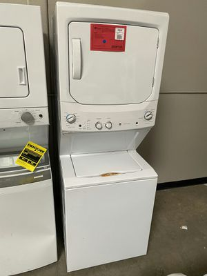 "New! GE 27"" Stacked Electric Washer Dryer Laundry Center!1 Year Manufacturer Warranty Included for Sale in Chandler, AZ"