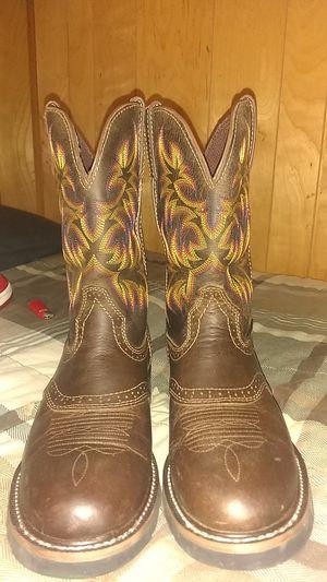 Justin work boots for Sale in Murfreesboro, TN