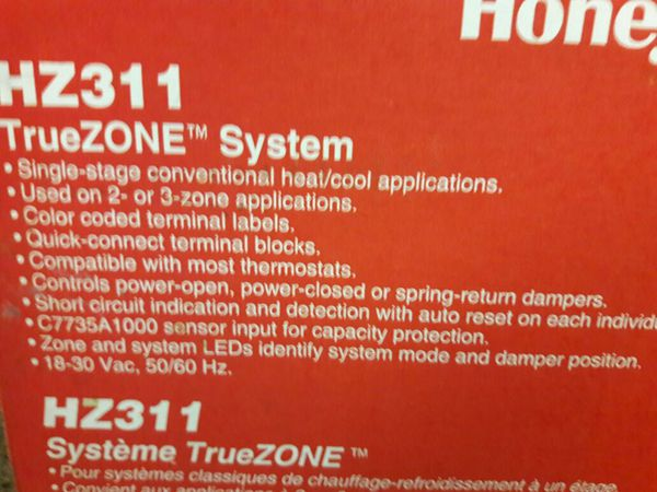 Honeywell true zone system hz311 for Sale in Citrus Heights, CA - OfferUp
