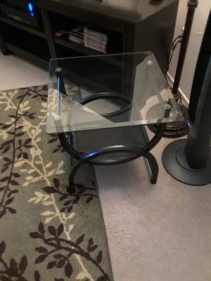 END TABLE glass for Sale in Santa Clara, CA