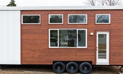 """Natural Modern 30ft Tiny House """"Sycamore"""" for Sale in Wichita,  KS"""