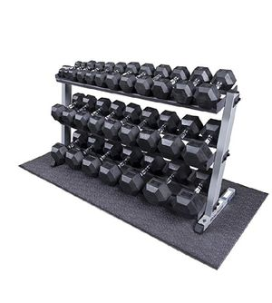 MAXICAM HEAVY DUTY DUMBBELL SET 5 to 50 lbs pairs USED for Sale in Placentia, CA