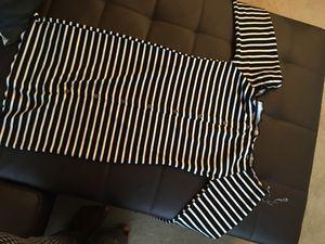 Black & white stretchy dress size L for Sale in Arlington, VA