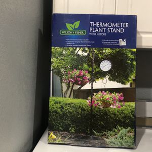 New Thermometer Plant Stand With Hooks!! for Sale in Lakewood, CA