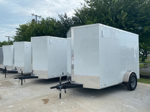 Enclosed trailers 6x12 single axle for Sale in Lancaster, TX