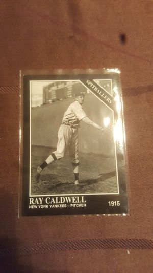 Ray Caldwell baseball card for Sale in Anaheim, CA