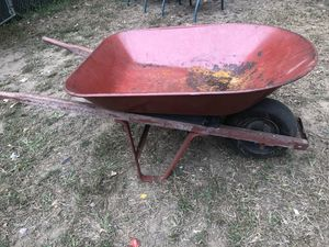 Metal Wheelbarrow for Sale in South Windsor, CT