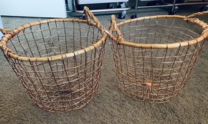 Rose Gold wire basket small set for Sale in Orange, CA