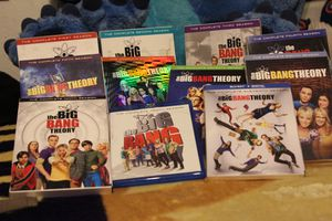 The Big Bang theory dvds seasons 1-11 for Sale in Los Angeles, CA