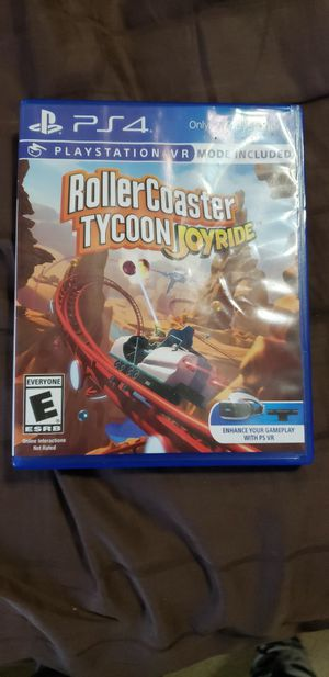 Brand new roller-coaster tycoon for Sale in Clayton, NC