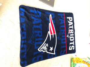 NFL: New England patriots blanket for Sale in Hilo, HI