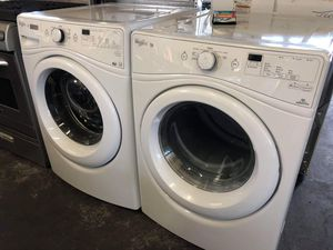 WHIRLPOOL DUET FRONT LOAD WASHER AND DRYER SET for Sale in Ontario, CA