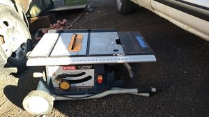 Ruby 10 inch portable table saw for Sale in Obetz, OH