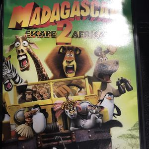 Madagascar Escape 2 Africa Dvd Movie for Sale in Elma, WA