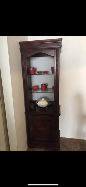Tall wooden cabinet / shelf / stand for Sale in Austin, TX