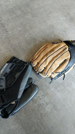 Two children baseball gloves for Sale in Edgewood, WA