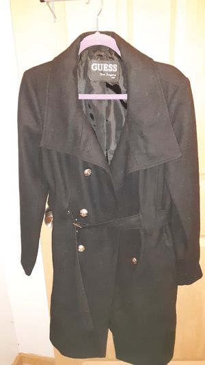 Guess knee-length jacket for Sale in Columbus, OH