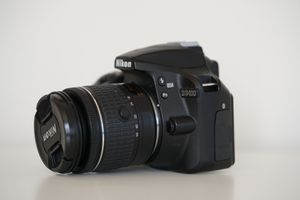 Nikon D3400 with 2 lenses for Sale in Chicago, IL