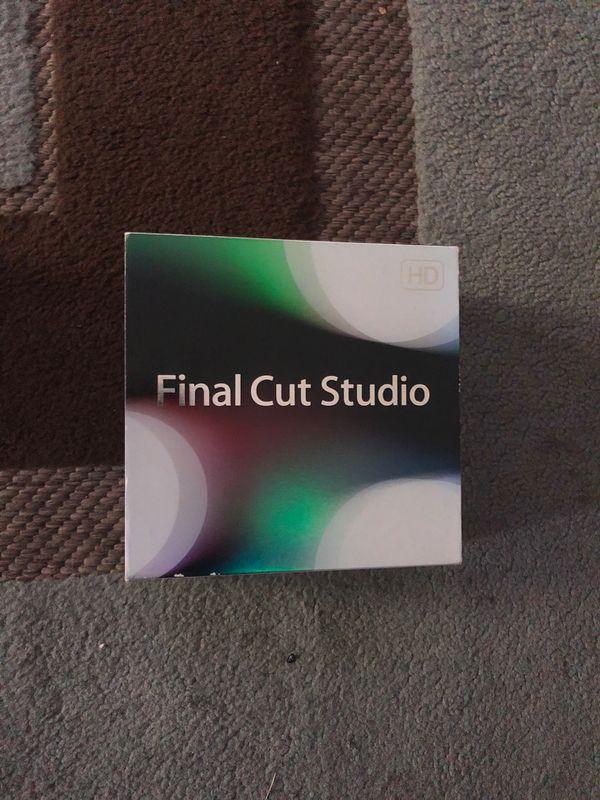 Final Cut Pro Studio For Mac