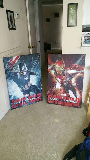 Marvel canvases for Sale in Durham, NC