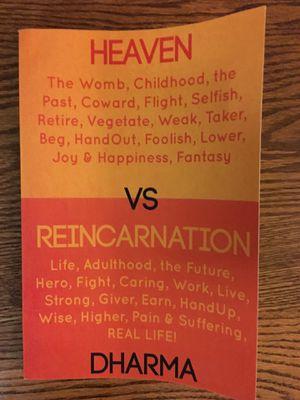 """New, Signed """"HEAVEN VS REINCARNATION"""" for Sale in Harrisonburg, VA"""