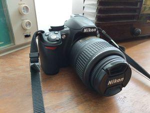 Nikon D3100 w/ Nikon DX AF-S Nikkor 18-55mm 1:3.5-5.6G VR for Sale in Montebello, CA