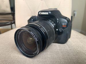 Canon T3i Digital SLR Camera — FREE 16GB Memory Card Included! for Sale in Arlington, VA