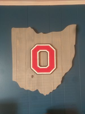 Wood ohio state wall art for Sale in Lakeview, OH