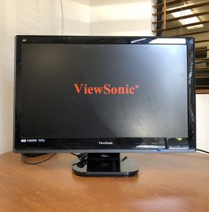 ViewSonic 24 inch LCD LED Monitor HDMI for Sale in Rancho Cucamonga, CA