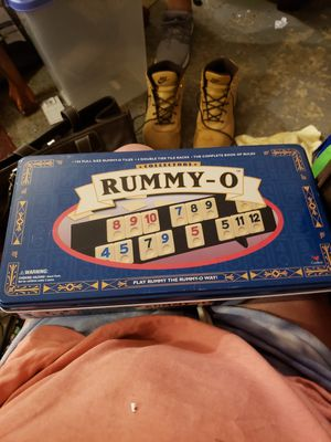 Rummy-O Board Game for Sale in Abingdon, MD
