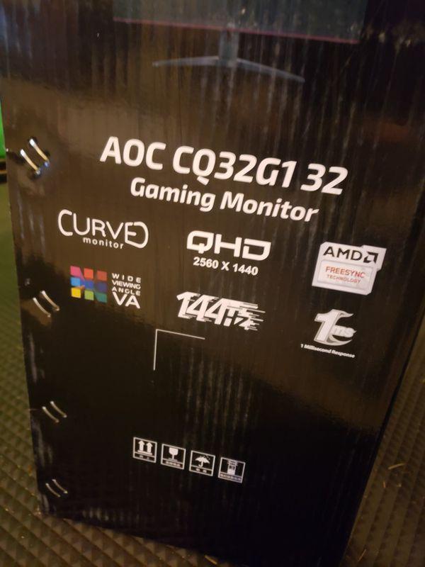 Gaming Monitor 144hrz 1440p
