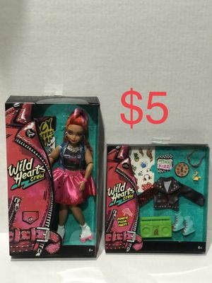 New Wild Hearts Crew Barbie size doll for Sale in Surprise, AZ