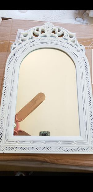 White hanging mirror for Sale in Fremont, CA