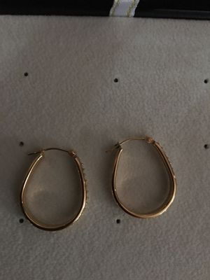 Earrings with diamonds accents for Sale in Camp Hill, PA