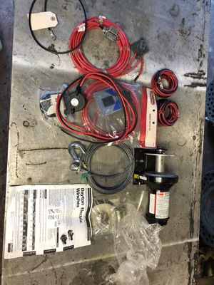 2000lb Dayton winch kit for Sale in Bridgeport, CT