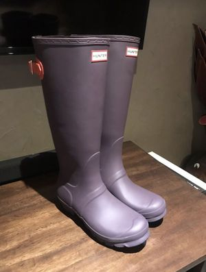 Hunter Rain Boots (like new) for Sale in Salt Lake City, UT