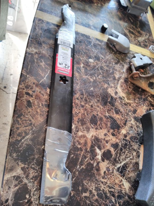 """42"""" riding lawn mower lawnmower blades pair set Craftsman poulan"""