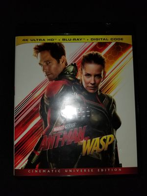 *NEW* Marvel's Ant-Man and the Wasp 4K UHD/HDR Bluray for Sale in Spring, TX