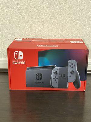 Nintendo Switch Console Gray V2 for Sale in Houston, TX